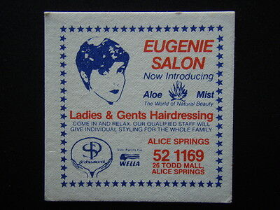 Eugenie Salon Aloe Mist Ladies & Gents Hairdressing Alice Spings 52 1169 Coaster
