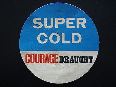 Courage Draught Super Cold Coaster