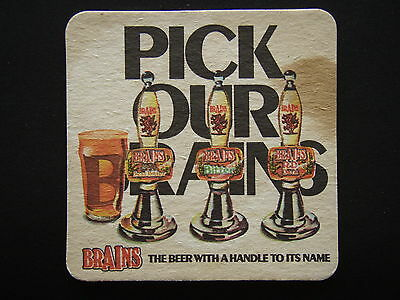 Brains The Beer With A Handle To Its Name Pick Our Brains Coaster