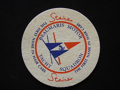 Beaumaris Motor Yacht Squadron Steiner The First Name In Hair Care Coaster