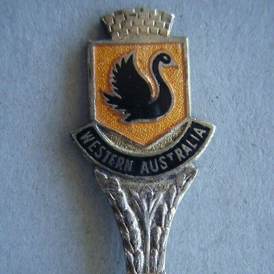 Western Australia Swan EPNS A1 Souvenir Spoon Teaspoon