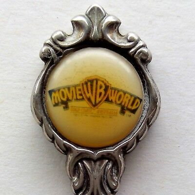WB Movie World Gold Coast Australia Souvenir Spoon Teaspoon (T128)