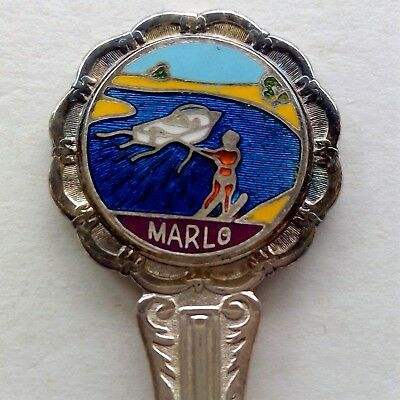 Marlo Water Skiing Souvenir Spoon Teaspoon (T127)
