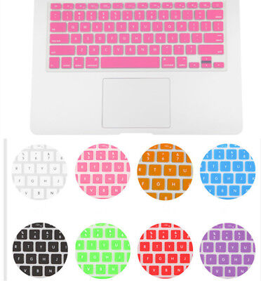 NEW Silicone Keyboard Cover Skin for Apple Macbook Pro Air 13'' 15'' 17''