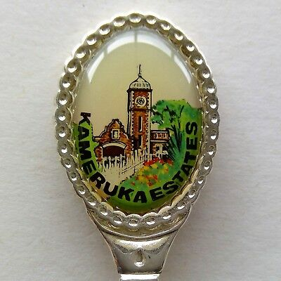 Kameruka Estates Clock Tower Souvenir Spoon Teaspoon (T130)