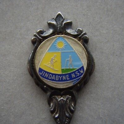 Jindabyne NSW Stuart EPA1 Souvenir Spoon Teaspoon (T96)