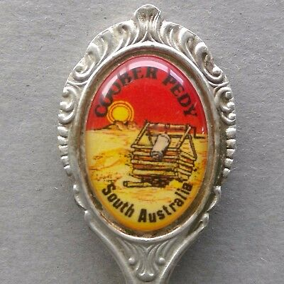 Coober Pedy South Australia Sonic Souvenir Spoon Teaspoon (T105)