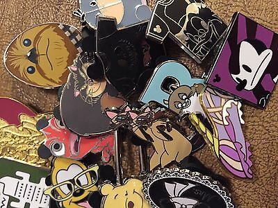 DISNEY PINS 125 pin MIXED LOT  FREE SHIPPING                  GET YOUR TRADE ON