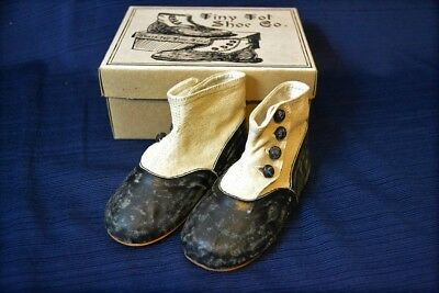 Vintage TINY TOT Childrens Shoes Mint In Box
