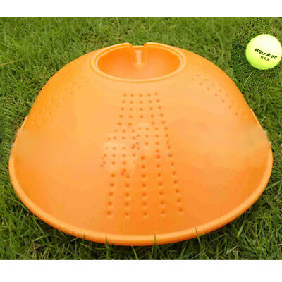 Outdoor Tennis Ball Singles Training Practice Drills Back Base Trainer KU