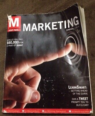 M marketing by dhruv grewal michael levy 1836 picclick marketing by dhruv grewal and michael levy 2012 paperback 3rd edition fandeluxe Choice Image