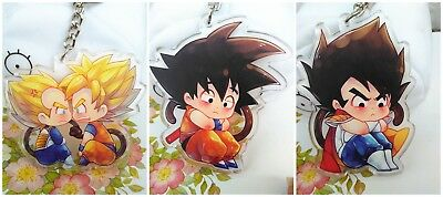 Dragonball Dragon Ball Z Saiyan Goku Sun Kakarotto Vegeta Acrylic Keychain Be