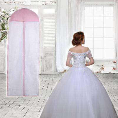 Breathable Garment Storage Bag Bridal Gown Wedding Dress Dust Cover Bags bhee