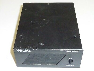 RTS Telex Audiocom SPK-1000 External Speaker 4 Intercom Systems or Auxiliary In