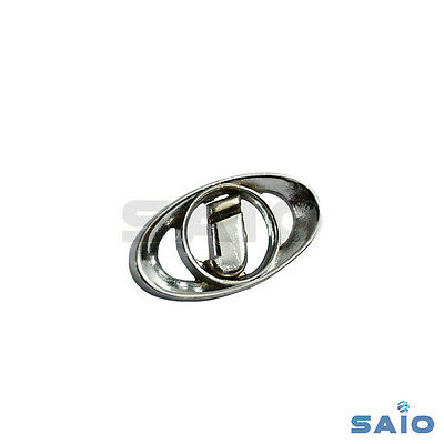 Saio Horn Cover Badge Polished For Lambretta Innocenti Series 3 - High Quality