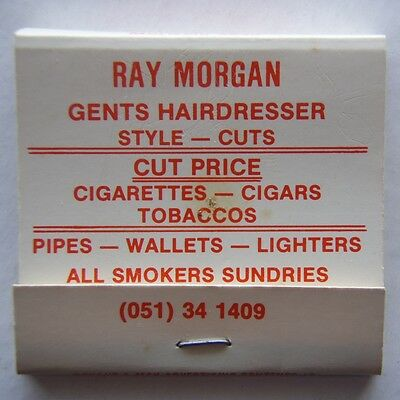 Ray Morgan Gents Hairdresser 18 Commercial Rd Morwell 051 341409 Matchbook