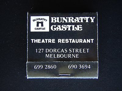 Bunratty Castle Theatre Restaurant 127 Dorcas St Melbourne 6992860 Matchbook