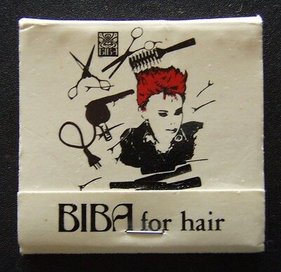 Biba For Hair 11 Hamilton St Mont Albert 8902111 Matchbook