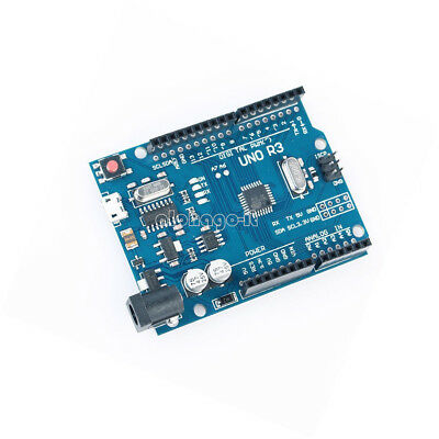 UNO R3 ATMEGA328P-AU Compatible CH340G FOR ARDUINO WITH MICRO USB DIY KIT