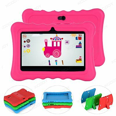 7'' Zoll Kinder Tablet PC Android 4.4 Quad Core Dual kamera WIFI 8GB Neu XGODY