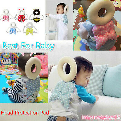 Baby Toddler Head Protection Pad Headrest Pillow Neck Baby Pillow With Straps ks