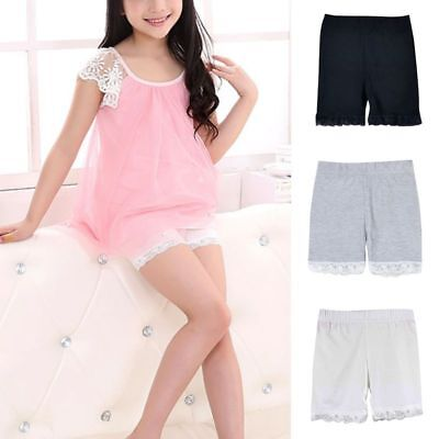 UK Baby Kid Girls Safety Shorts Underwear Short Pant Kids Briefs Boxers Trousers