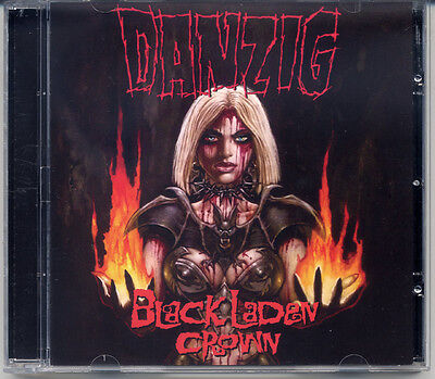 "DANZIG ""Black Laden Crown"" 2017, CD jewel case"