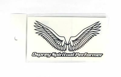 OSP Wing Cutting Stickers Decal Black (7373)
