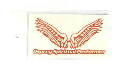 OSP Wing Cutting Stickers Decal Orange (7397)