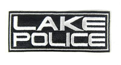 Sale Jackall Patch Wappen Iron On Decal Lake Police Black (1037)