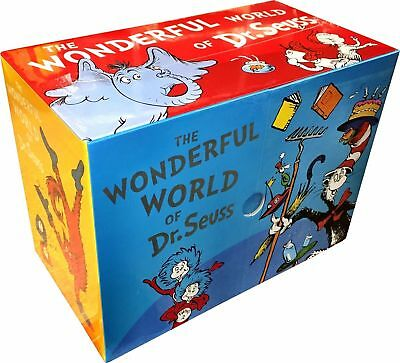 The Wonderful World of Dr. Seuss 20 Reading Books Collection Gift Box Set by Dr.