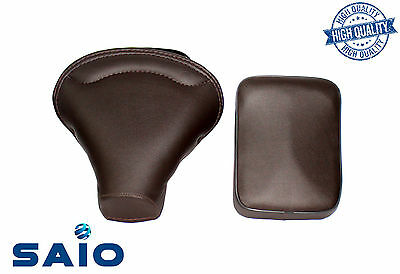 Saio Front + Rear Seat Dark Brown For Vespa VBB VBA 125 150 - High Quality