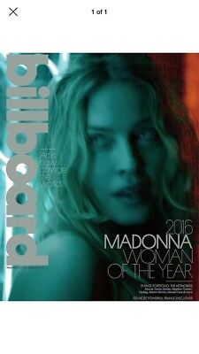Billboard Magazine Madonna 2016 Woman of the Year