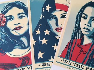 Shepard Fairey We The People Obey Poster SET (3 Poster)
