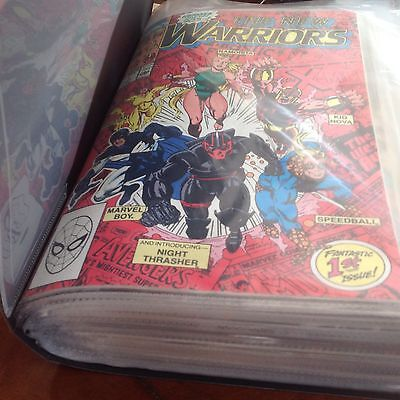 MARVELS COMICS  The New Warriors Marvel Comics- VOL.1.- Set Of 1- 27 Incl. -VGC.