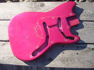 Vintage 1962 Fender Duo Sonic Project Body PRE-CBS 1961 1960 1959 Musicmaster