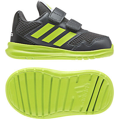 Adidas Boys Running AltaRun Shoes Infants Sneakers Breathable Sporty New CQ0025