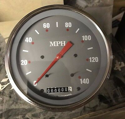 Classic Instruments Speedometer Gauge Silver Grey Series SG56SLF