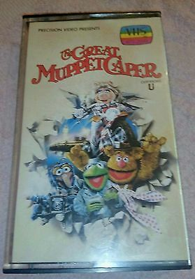 The Great Muppet Caper 1981 VHS