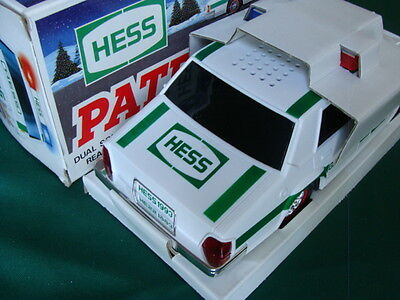 1993 Toy Hess Police Patrol Car Emergency Flashers Flashing headlights Sirens