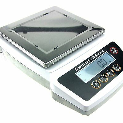 3000G x 0.1G Digital Precision Analytical Balance Lab Scale