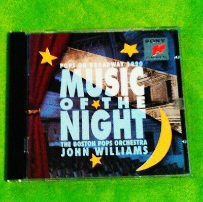 Music of the Night: Pops on Broadway 1990 by John Williams (Film Composer) (CD )