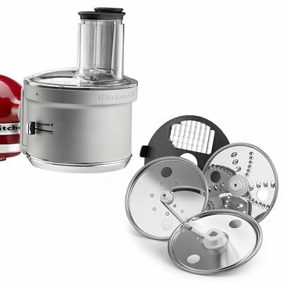 KitchenAid Stand Mixer Food Processor Attachment Accessoires Dicing Kit KSM2FPA