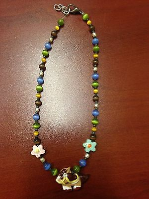 Custom Resell Beaded Clay Horse Necklace
