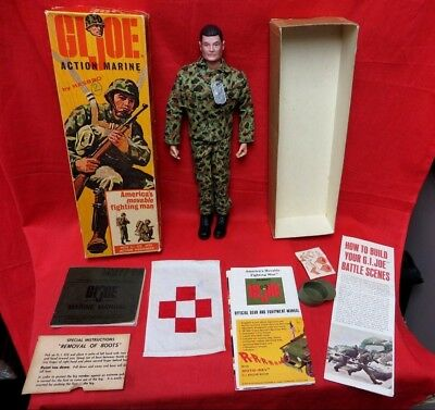 1964 Vintage Gi Joe Joezeta:   Hasbro Canada Marketed Action Marine Boxed