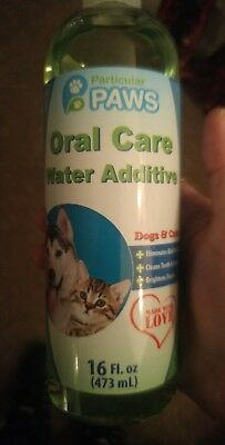 Fresh Breath Water Additive for Dogs and Cats - For Clean Teeth Healthy Gums
