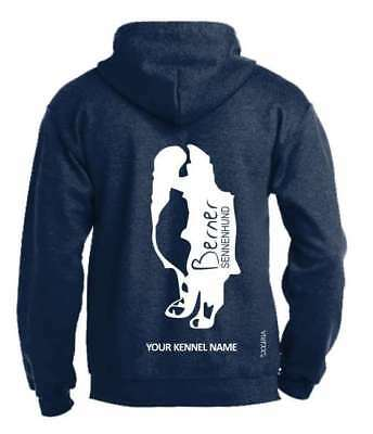Clothing, Shoes & Accessories Exclusive Dogeria Design Australian Shepherd Full Zipped Dog Breed Hoodie