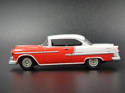 1955 CHEVY CHEVROLET BEL AIR CONVERTIBLE RARE 1:64 SCALE DIECAST MODEL CAR