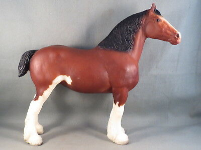 Vintage Breyer Horse Clydesdale Family Mare, Bay, 1982- 1984 JCPenney, #8035