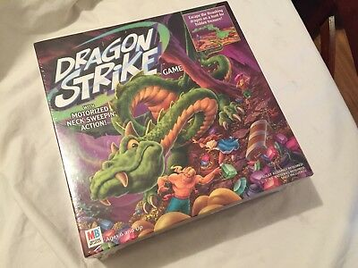 Milton Bradley 2002 DRAGON STRIKE Board Game Still FACTORY SEALED